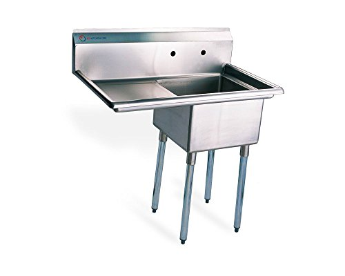 EQ 1 Compartment Commercial Kitchen Sink Stainless Steel | Stainless ...